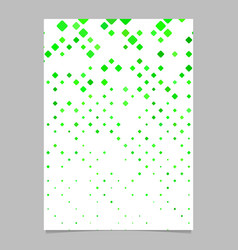 Geometrical rounded square mosaic pattern page vector