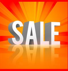 Promo shopping template vector