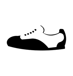 Shoes tennis sport equipment icon vector