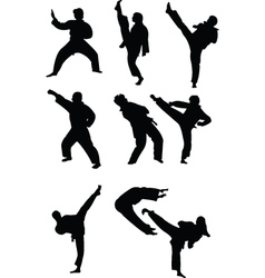 Taekwondo vector