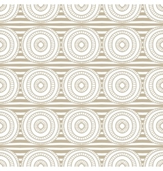 Abstract seamless hand drawn beige pattern vector image vector image