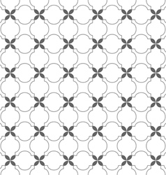 Delicate seamless pattern in arabic motif vector image vector image