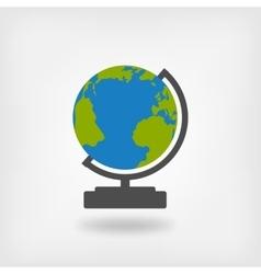 globe design element vector image vector image
