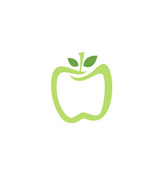 apple logo and symbols icons app vector image
