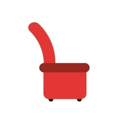 arm chair icon vector image