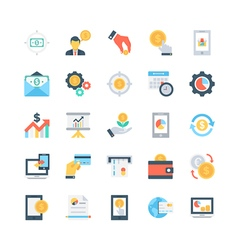 Banking and Finance Icons 5 vector