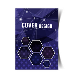 cover design template3 vector image