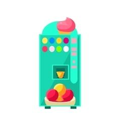 Ice-cream Vending Machine Design vector