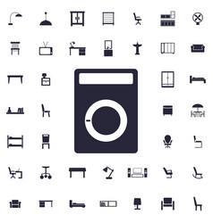 Music speaker icon vector