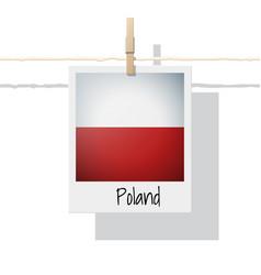 Photo of poland flag vector