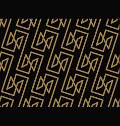 seamless geometric pattern stripes line vector image
