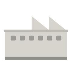 factory building icon vector image vector image