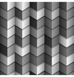 Monochromatic geometric structured background vector image vector image