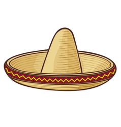 sombrero mexican hat vector image