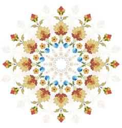 Artistic ottoman pattern series twenty two vector
