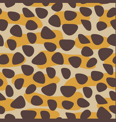 cheetah fur desihn pattern vector image