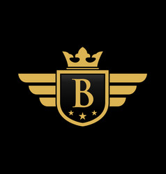 letter b initial vector image