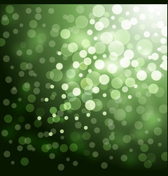Lights on green background vector