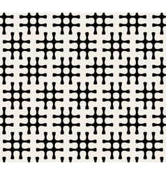 Seamless Black And White Hashtag Pattern vector