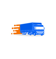Truckmobile vector