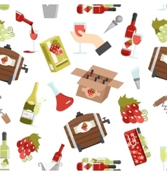 Wine Color Seamless Pattern vector