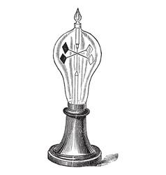 Radiometer vintage engraving vector image vector image