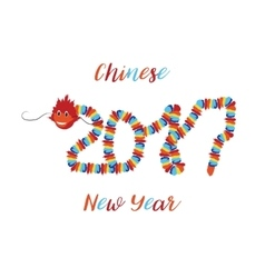Chinese New Year Asian symbols of good luck vector image vector image