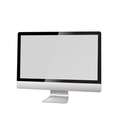 modern computer vector image