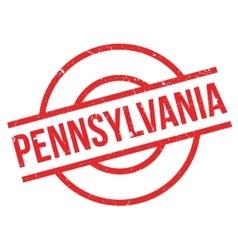 Pennsylvania rubber stamp vector
