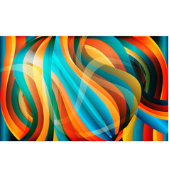 abstract bright waved background texture vector image