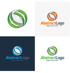 Abstract logo and icon vector