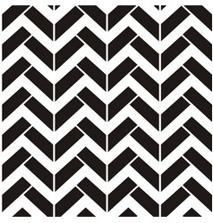Abstract seamless black and white pattern with vector