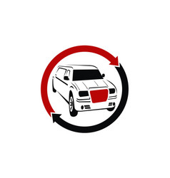 auto car solutions vector image