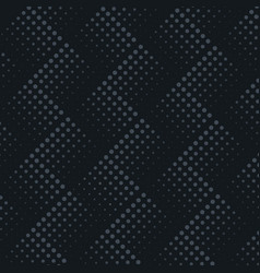 dark black halftone dots pattern vector image