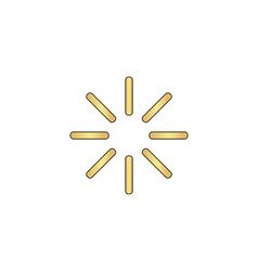loading computer symbol vector image vector image