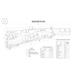 Plan industrial area vector