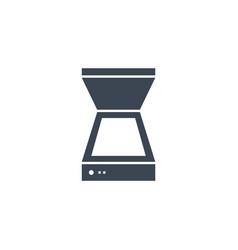 Scanner related glyph icon vector