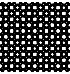 simple black and white seamless pattern vector image vector image