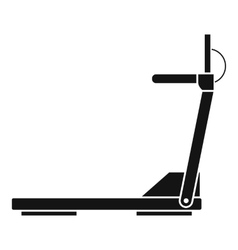 Sport treadmill running road equipment icon vector