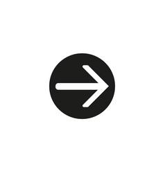 up arrow iconbutton icon white background vector image