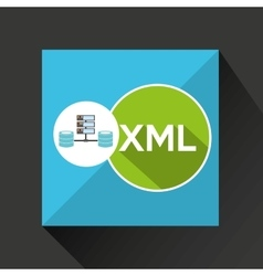 Xml language data base storage vector