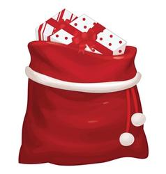 bag gifts vector image