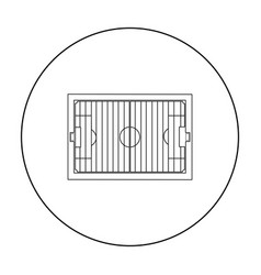 stadium icon outline single sport icon from the vector image vector image