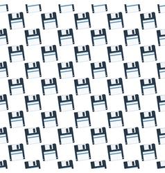 Diskette pattern vector image vector image