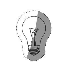 save bulb icon image vector image