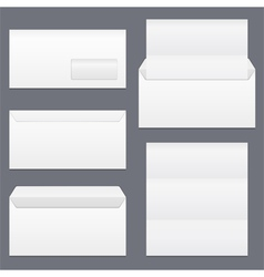Envelopes and Paper vector image vector image