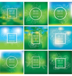 background natural 13 vector image
