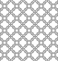 Delicate seamless pattern in oriental style vector