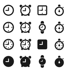 Hours an icon3 vector