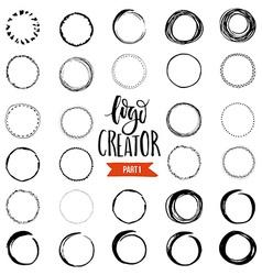 Logo creator vector